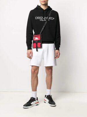 Dsquared2 hoodie à logo brodé