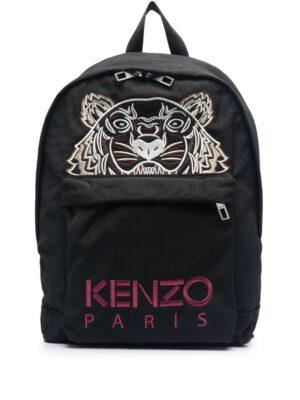 Accessoires sac à dos à motif Tiger brodé