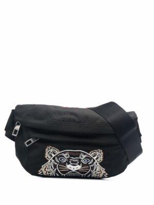 Accessoires sac banane à motif Tiger brodé