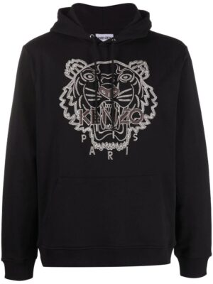Kenzo hoodie à logo brodé
