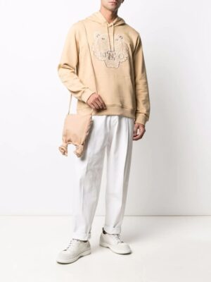 Kenzo hoodie Tiger à logo brodé