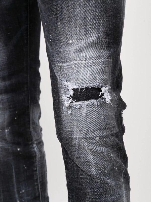 Dsquared2 jean slim à taille mi-haute