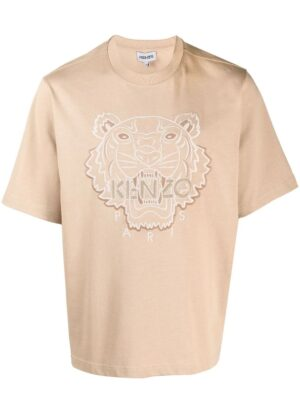 Kenzo t-shirt à motif Tigre Signature