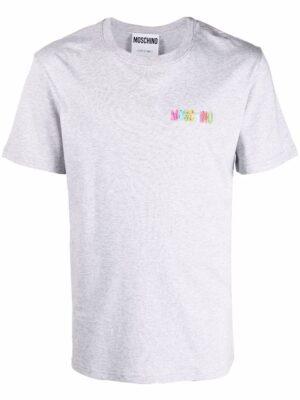 Men t-shirt à logo poitrine