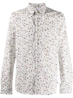 Chemises chemise à motif fleurs