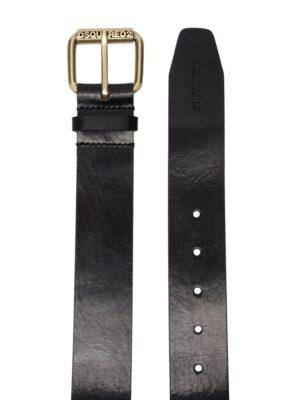 Accessoires ceinture à boucle gravée