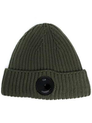 Accessoires bonnet nervuré à plaque logo