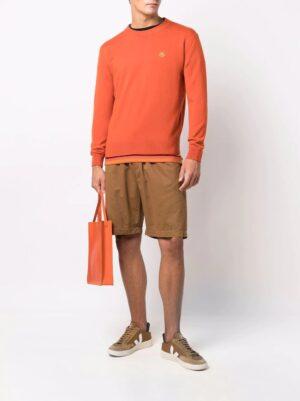 Kenzo pull en laine à patch tigre