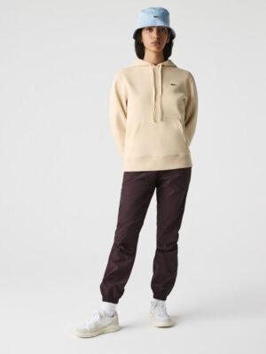 Hauts Sweatshirt à capuche loose fit en coton mélangé uni