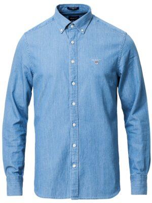 Chemises Chemise indigo moulante