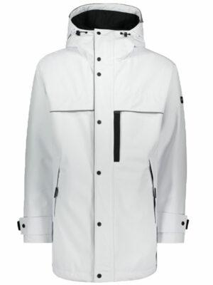 Men veste typhoon avec zip contrasté