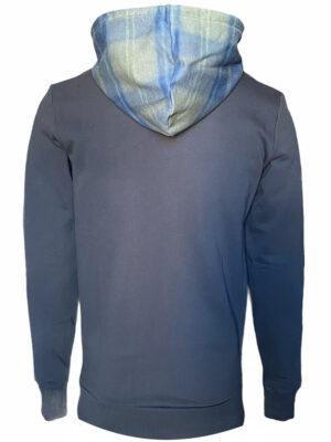 Men hoodie à imprimé holographique