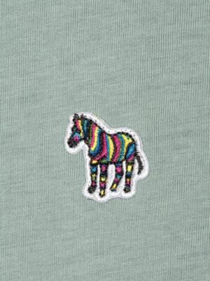 Men T-shirt en coton bio à motif Big Pony