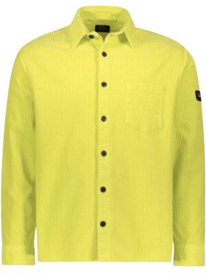 Chemises overshirt en coton avec badge iconique