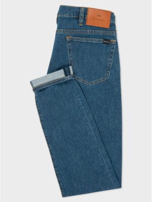 Jeans jean coupe slim délavé vintage