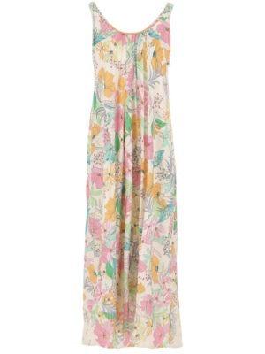 Imperial robe longue à motif fleuri