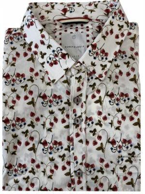 Braderie chemise à motifs fleuri