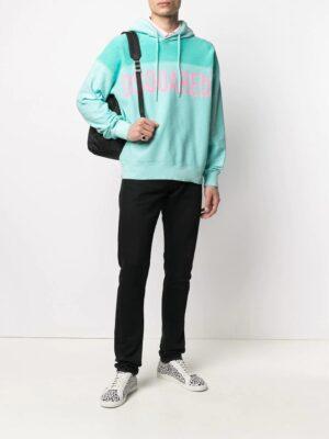 Non classé hoodie à lien de resserrage