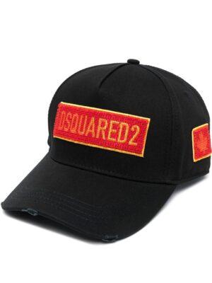 Accessoires casquette à six empiècements à logo brodé