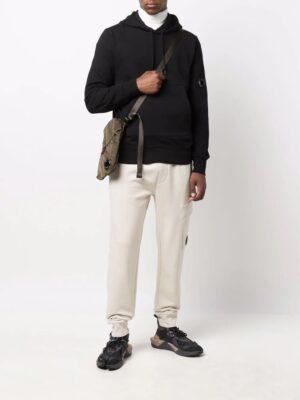 CP Company hoodie à design à empiècements