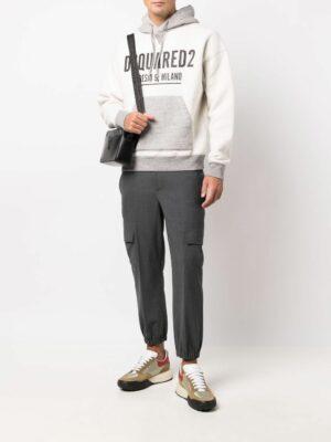 Dsquared2 hoodie à logo imprimé