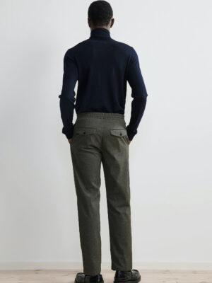 Men pantalon à cordon de resserage