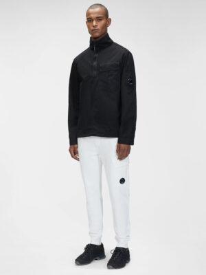 CP Company pantalon de survêtement en molleton surélevé en diagonale