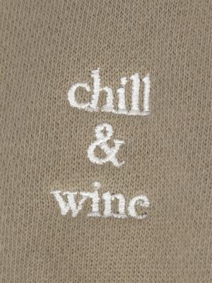 Maison Labiche hoodie «chill & wine»