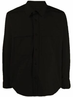 AMI Paris chemise à poches plaquées
