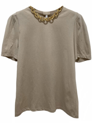 Hauts T-shirt à col rond