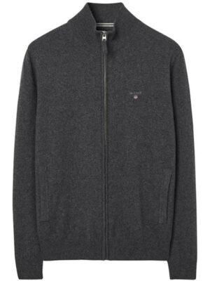 Gant Cardigan zippé en laine