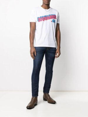 Braderie jean skinny taille mi-haute