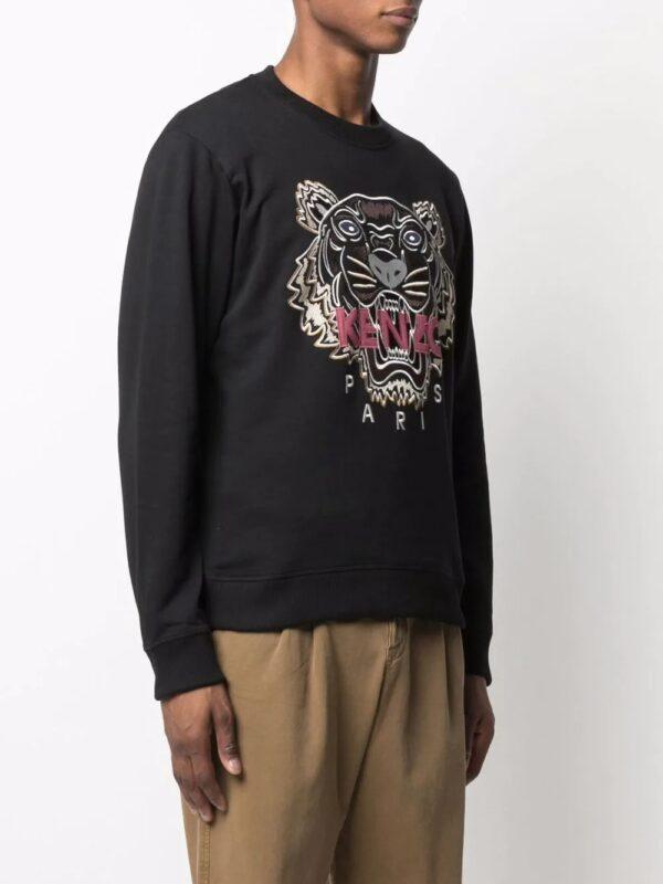Kenzo sweat à logo Tiger