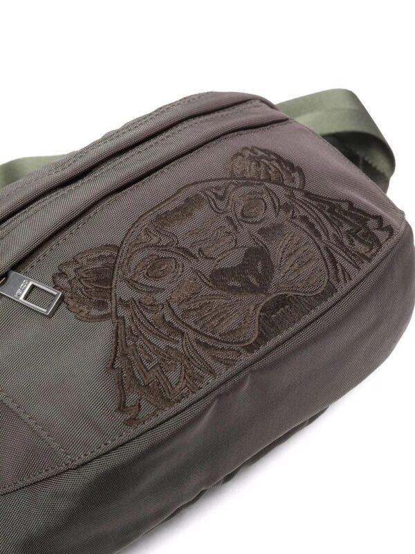 Accessoires sac banane à motif tête de tigre