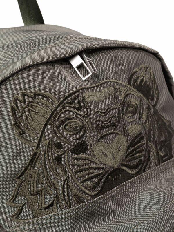 Accessoires sac à dos à tête de tigre brodé