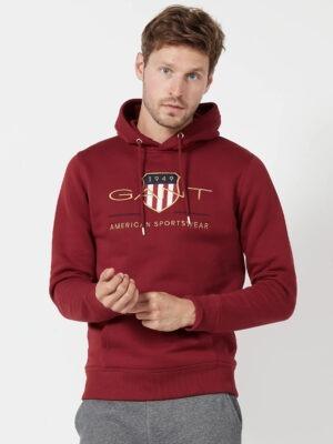Gant Sweat brodé à capuche regular-fit