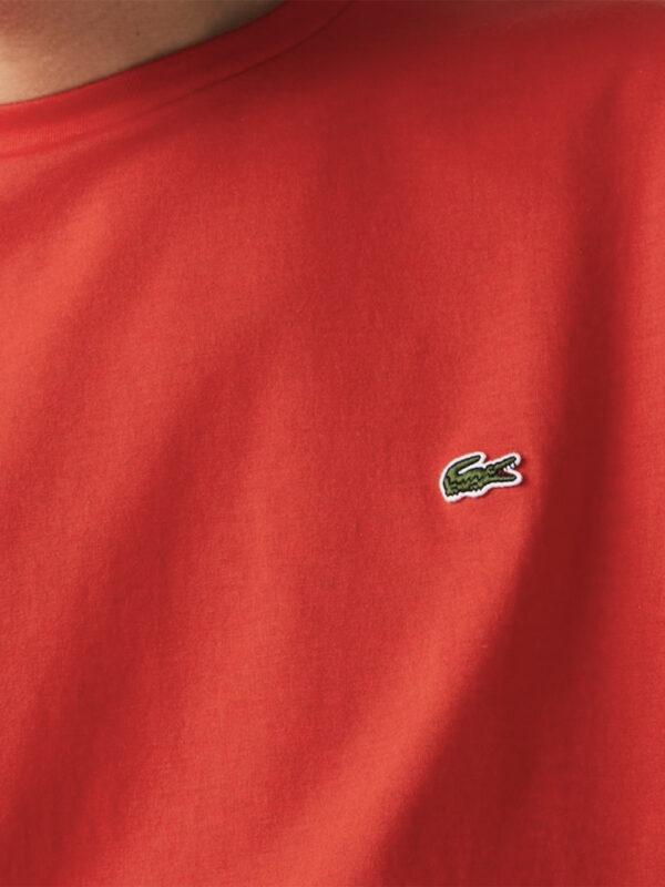 Lacoste Live T-shirt col rond en jersey uni