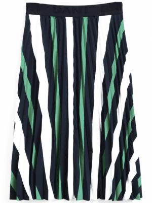 Gant Jupe plissée à rayures