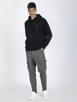Paul & Shark Sweat-shirt avec capuche en coton organique Winter Fleece