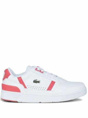 Baskets Sneakers T-Clip femme en cuir et en matière synthétique