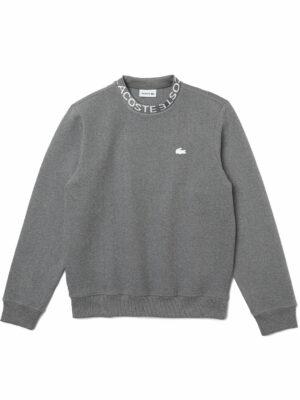 Lacoste Live Sweatshirt à col rond en coton mélangé siglé Lacoste