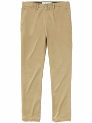 Lacoste Live Pantalon chino slim fit en gabardine stretch unie