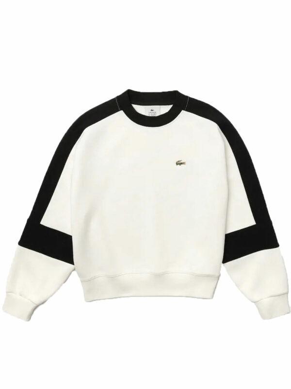 Lacoste Live Sweatshirt Lacoste L!VE avec empiècements graphiques