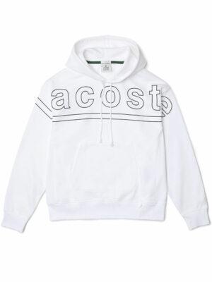 Lacoste Live Sweatshirt à capuche Lacoste L!VE loose fit en molleton imprimé