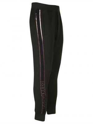 Dsquared2 pantalon de jogging fuselé en coton
