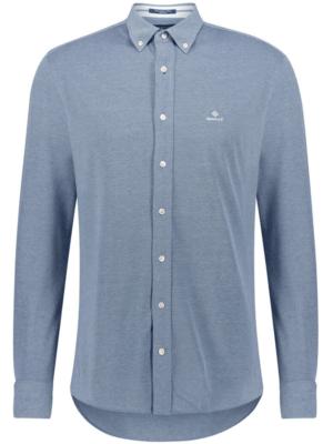 Chemises Chemise en piqué coupe régulière