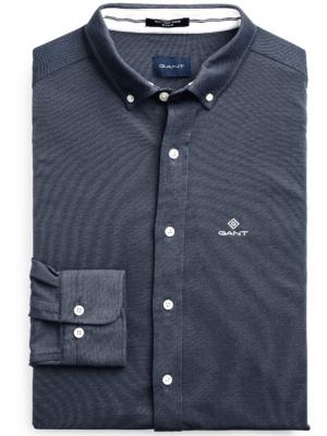 Chemises T-shirt regular fit en coton piqué