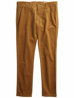 Men Pantalon effet velours