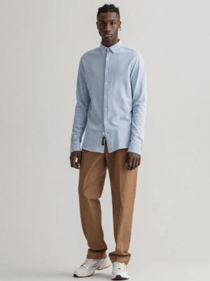 Chemises Chemise regular fit en coton piqué
