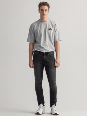 Gant Jean extra slim fit noir